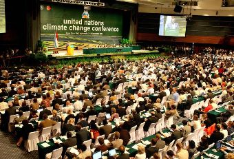 The UN's climate change efforts, continued at the Bali Conference in 2007 and now at Poznan, has centered around a the market-like cap and trade system.  This is an effort, following the economic vogue of the 1990's for government to act as referee but not to pick winning technological solutions to climate change.