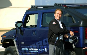 "Governor Schwarzenegger and the California Air Resources Board once publicly supported hydrogen, ""picking a winner"".  The current California Low Carbon Fuel Standard would avoid the appearance of doing such but would not speed the focused building of either a public electric quick-charge nor another post-petroleum fueling network."