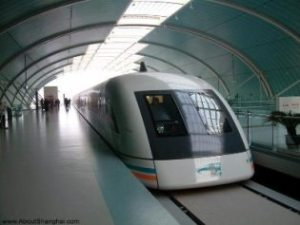 Advocates of high speed or improved rail service are divided between those who advocate improving current railbeds, those who seek to build a dedicated high speed passenger rail network and those who advocate newer technologies like this magnetic levitation train, currently used to transport passengers to the Shanghai airport.  Wise decision-making in this area will need to weigh a variety of factors both context specific and projected outward in time and space.