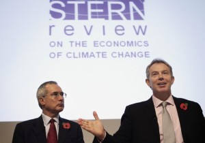 Sir Nicholas Stern was commissioned by the British Government to assess the economic impacts of climate change and the costs associated with mitigating carbon emissions.  His Stern Review remains the most comprehensive economic study of climate change.