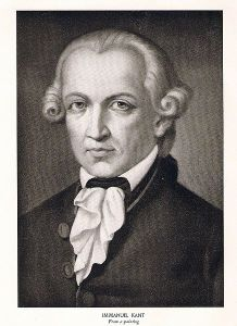 "18th Century German philosopher Immanuel Kant, a deontologist in the area of ethics, believed that moral acts are always motivated by a sense of duty rather than by what he called ""inclination"".  Inclination means approximately that you do something because you ""feel like it"".  The utilitarian focus on pleasure and pain lives in the world of inclination rather than duty."